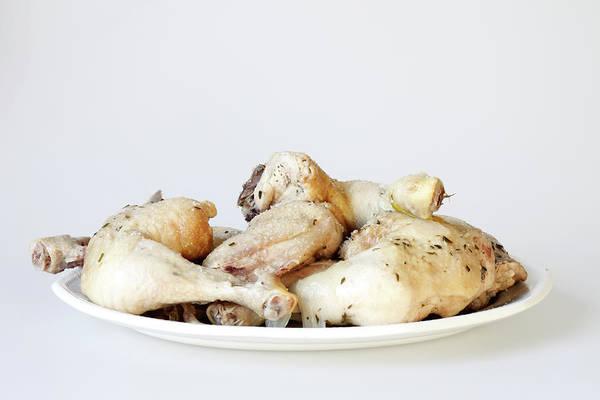 German Food Photograph - Chicken Thighs by Tarek El Sombati