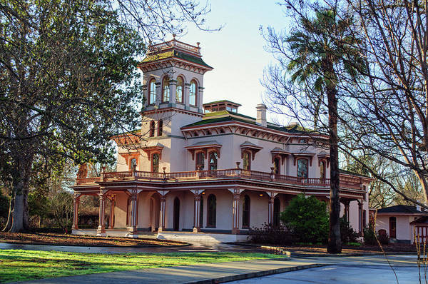 Photograph - Chico Bidwell Mansion by Tikvah's Hope