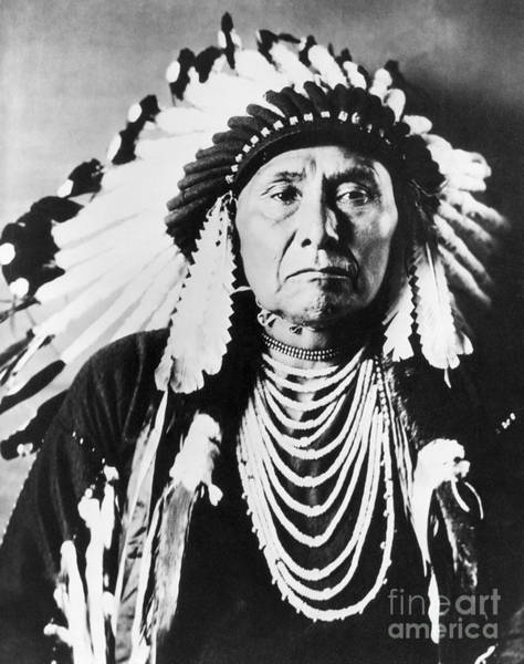 Photograph - Chief Joseph by Granger