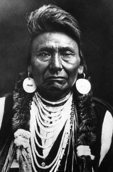 Indigenous People Photograph - Chief Joseph by Mpi