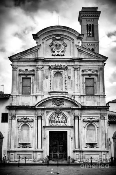 Photograph - Chiesa Di San Salvatore Di Ognissanti Firenze by John Rizzuto