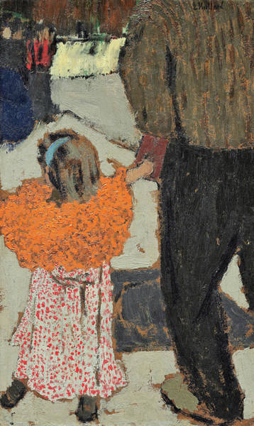 Wall Art - Painting - Child Wearing A Red Scarf - Digital Remastered Edition by Edouard Vuillard