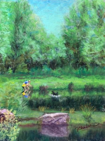 Wall Art - Painting - Childhood Wonders by Jan Chesler