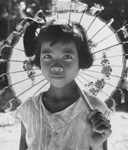Carefree Photograph - Childs Parasol by Richard Harrington