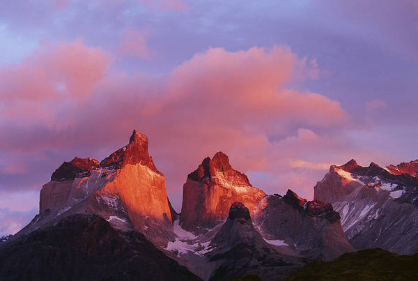Scenic Photograph - Chile, Torres Del Paine National Park by Paul Souders