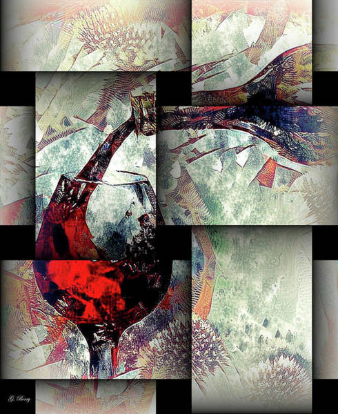 Champagne Mixed Media - Chill by G Berry