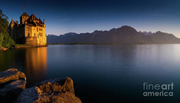 Schloss Wall Art - Photograph - Chillon Castle by DiFigiano Photography