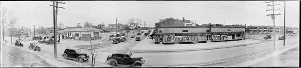 Wall Art - Photograph - Chillum Heights Street Scene, Pharmacy by Fred Schutz Collection