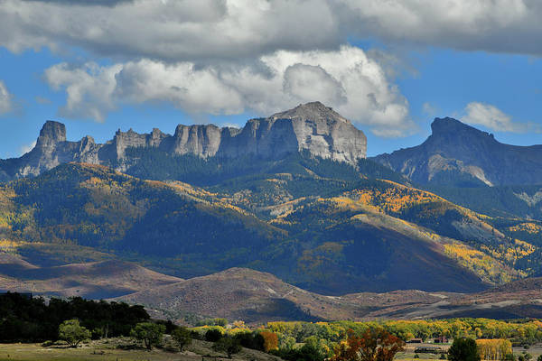 Photograph - Chimney Rock And Owl Creek Pass by Ray Mathis