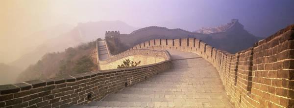 Wall Art - Photograph - China, Beijing, Badaling,  Great Wall by Peter Adams
