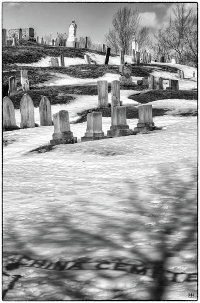 Photograph - China Cemetery by John Meader