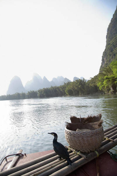 Raft Photograph - China, Guilin, Lijang River, Trained by Jerry Driendl