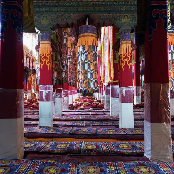 Wall Art - Photograph - China, Xizang, Lhasa, Drepung by Keith Levit / Design Pics