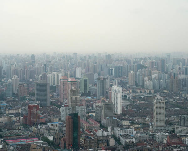 Residential Area Photograph - Chinas Pollution Problems by Georgeclerk