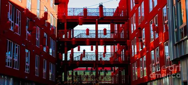 Wall Art - Digital Art - Chinatown Apartments Los Angeles California  by Chuck Kuhn