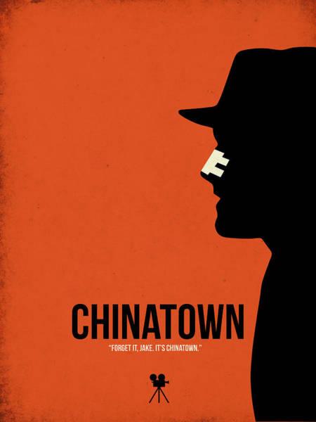 Series Digital Art - Chinatown by Naxart Studio
