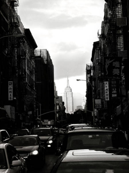 Wall Art - Photograph - Chinatown With View Of Empire State by Win-initiative