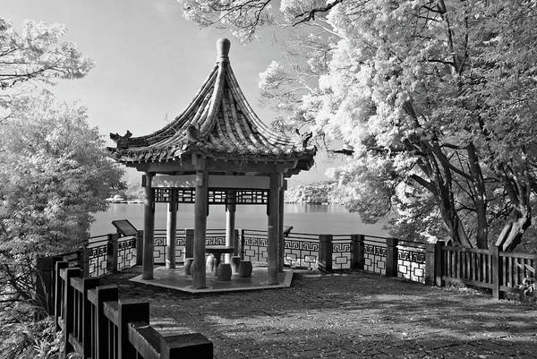 Chinese Pavilion Photograph - Chinese Flavor Pavilion by Higrace Photo