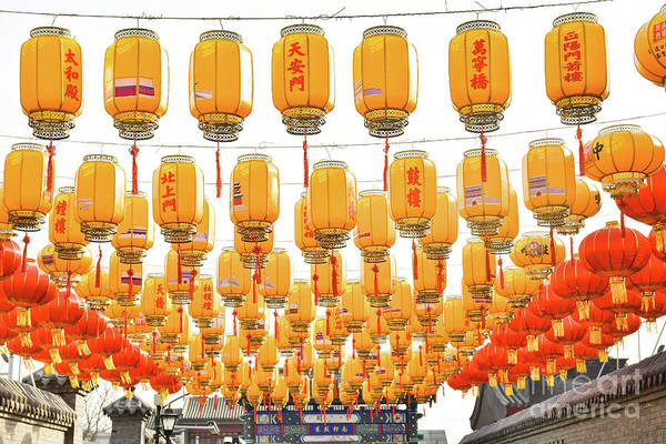 Photograph - Chinese Lanterns  by Steven Liveoak