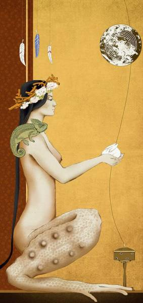 Wall Art - Painting - Chinese Myths by ArtMarketJapan