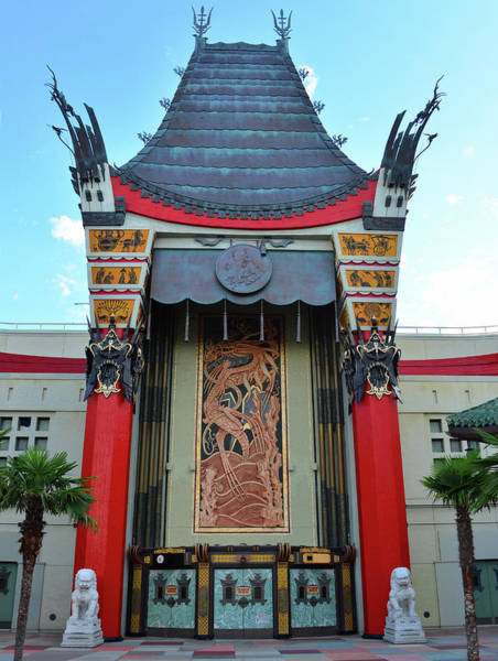 Wall Art - Photograph - Chinese Theatre Dhs 2019 by David Lee Thompson