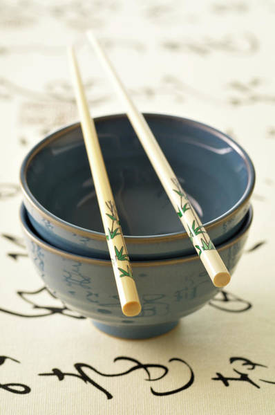 Chinese Language Photograph - Chinese Utensils by Riou