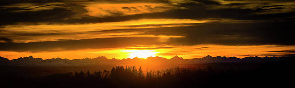 Photograph - Chinook Sunset by Philip Rispin