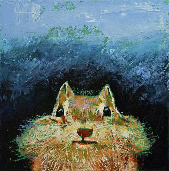 Chipmunk Wall Art - Painting - Chipmunk by Michael Creese