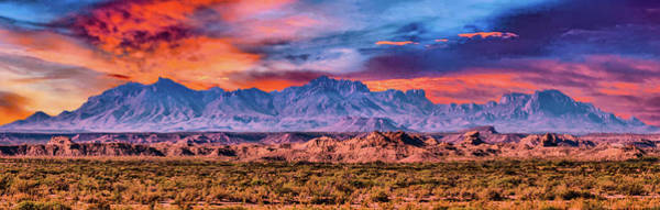 Photograph - Chis Mountain Range by Gaylon Yancy