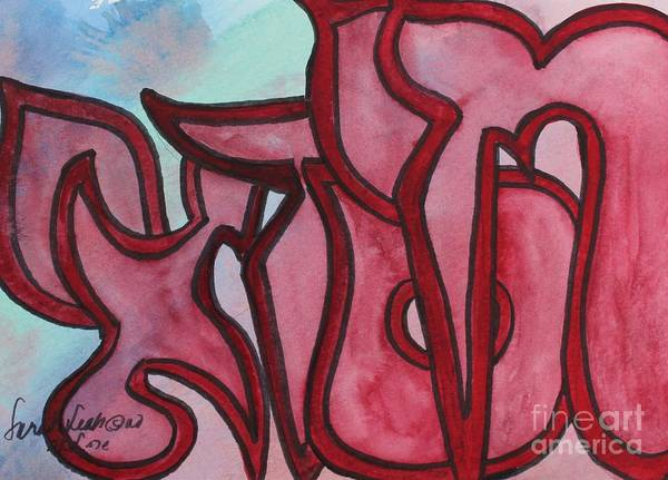 Painting - Chisdai by Hebrewletters Sl