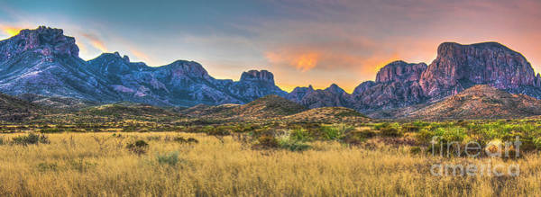 Big Basin Photograph - Chisos Sunrise by Charles Dobbs