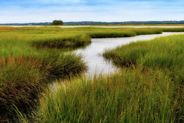 Photograph - Choate Is. Estuary Ipswich Ma. by Michael Hubley