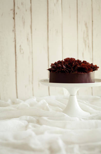 Municipality Photograph - Chocolate And Chestnut Mousse Cake by Feryersan