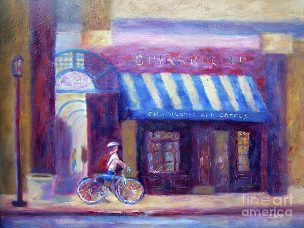 Painting - Chocolate Cafe by Carolyn Jarvis