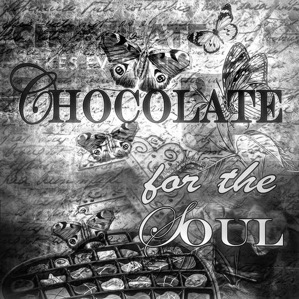 Photograph - Chocolate For The Soul In Black And White by Debra and Dave Vanderlaan