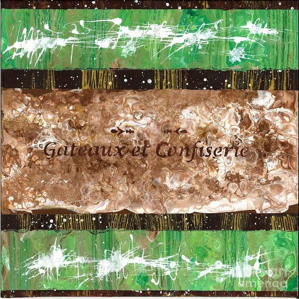 Painting - Chocolate Pistachio by Angelika GAIGL