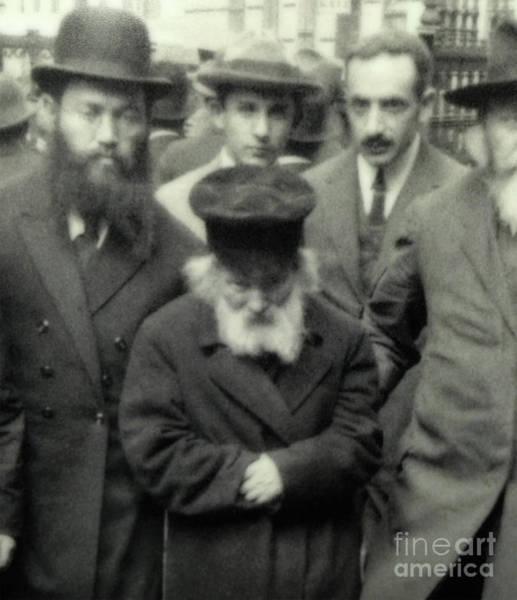 Photograph - Chofetz Chaim - Circa 1923 by Doc Braham