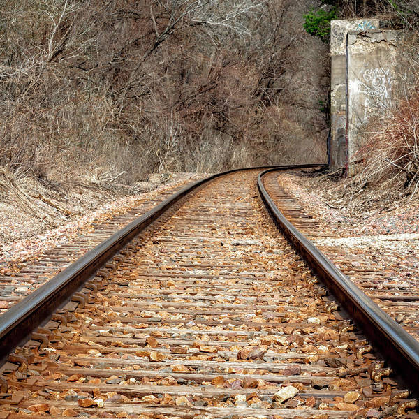 Wall Art - Photograph - Choo Choo Tracks by Kevin Argue