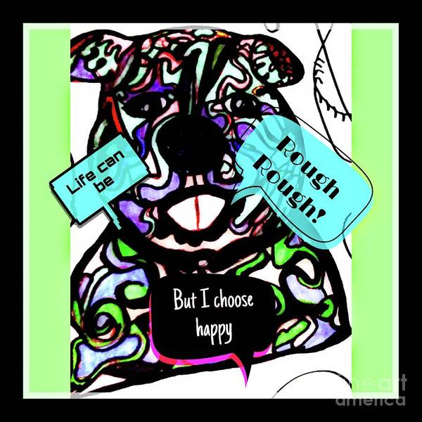 Painting - Choose To Be Happy by Debra Lynch