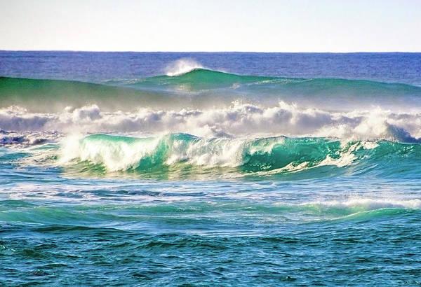 Photograph - Choppy Surf by Anthony Jones