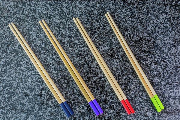 Photograph - Chopsticks by Steve Purnell