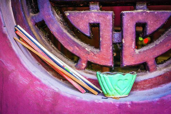 Photograph - Chopsticks Window by Gary Gillette