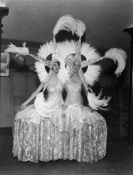 Revue Wall Art - Photograph - Chorus Costume by Sasha