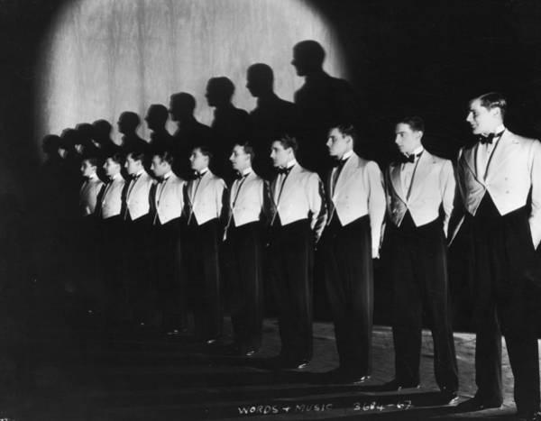 Revue Photograph - Chorus Line by Sasha