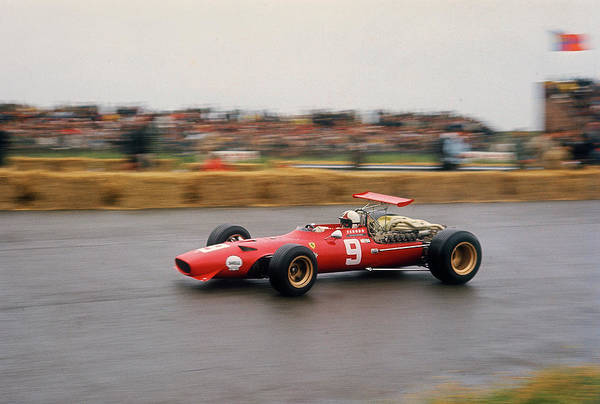 Motor Sport Photograph - Chris Amon In A Ferrari V12, Dutch by Heritage Images