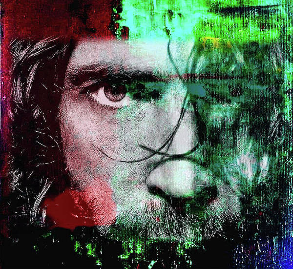 Mixed Media - Chris Cornell by Jayime Jean