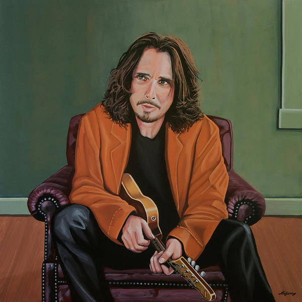 Painting - Chris Cornell Painting by Paul Meijering