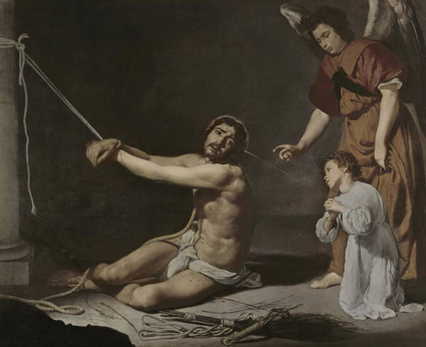 Velazquez Wall Art - Painting - Christ After The Flagellation Contemplated By The Christian Soul by Diego Rodriguez de Silva y Velazquez