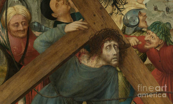 Wall Art - Painting - Christ Carrying The Cross, Detail by Quentin Massys