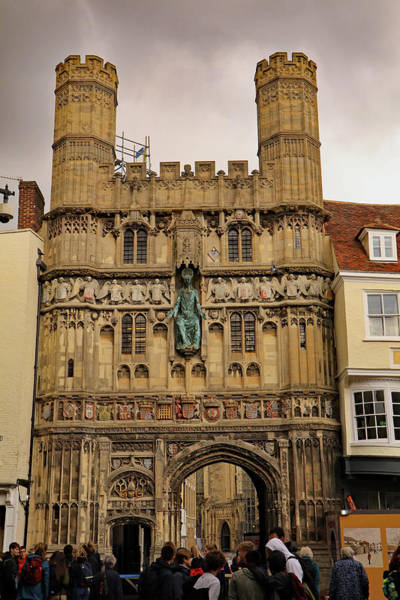 Photograph - Christ Church Gate by Tony Murtagh